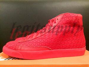 Nike Blazer Milieu Métriques Acheteurs Rouges