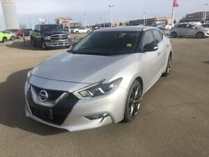2016 Nissan Maxima SR $20988 Navigation (GPS),  Leather,  Heated Seats,  Back-up Cam,  Bluetooth,