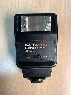 Vintage JCPenny Compact Bounce Automatic Strobe Camera Flash Unit