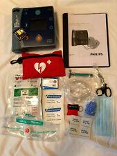 Philips Heartstart Aed Fr2 Defibrillator New Battery 2025 Amp New Pads 2024