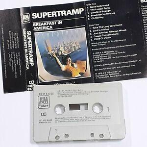 SUPERTRAMP BREAKFAST IN AMERICA 1979 CASSETTE TAPE ALBUM 70s POP