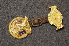 Early Ohio 1914 FOE, Fraternal Order of Eagles Large Medal w/ Enamel