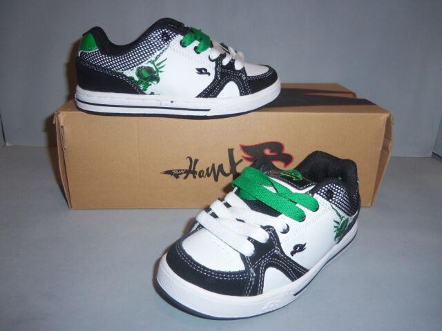 Tony Hawk Boy's Ledge Thledge Black White Skate Shoes Sz 3 left! NIB NEW