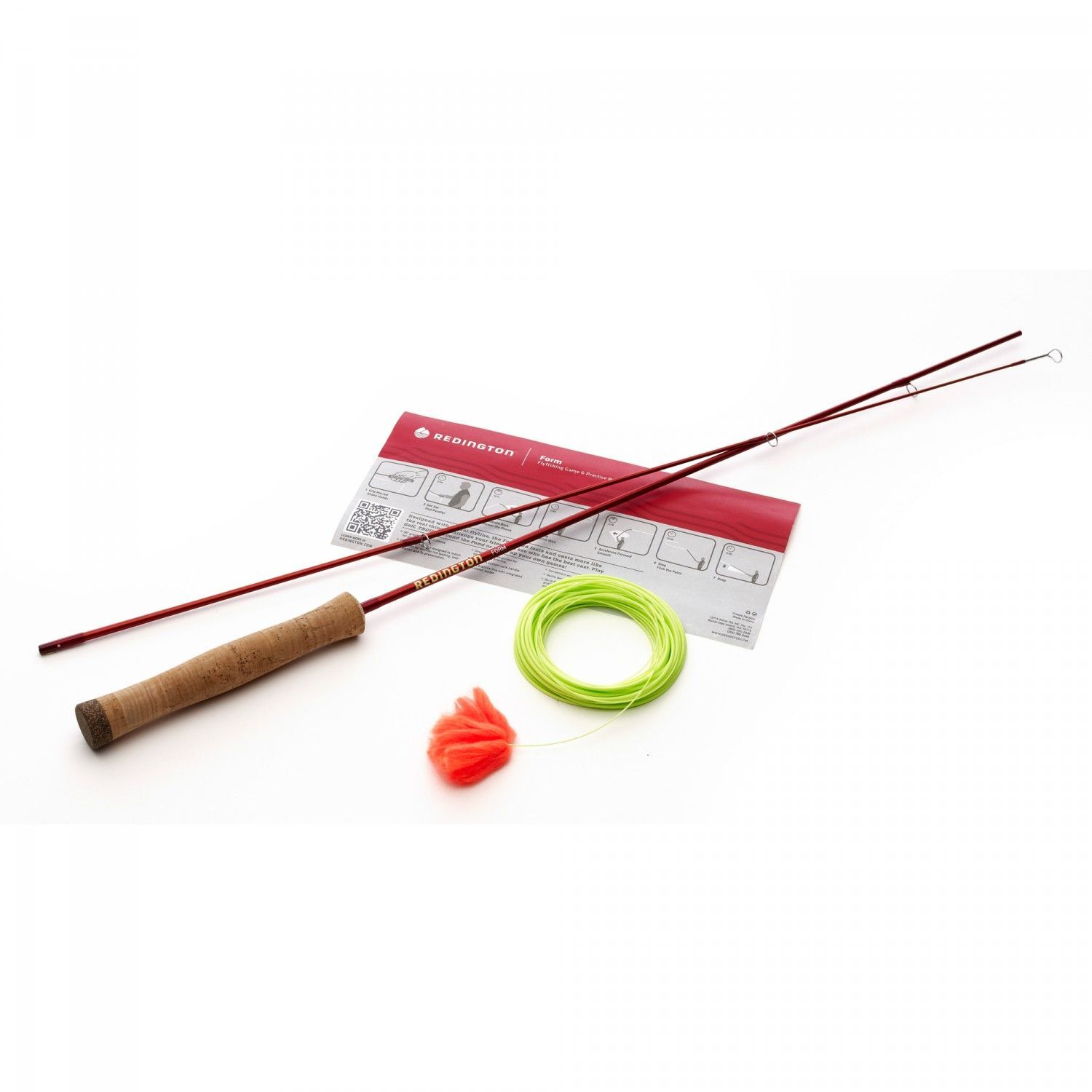 NEW rossoINGTON FORM GAME GAME GAME ROD LAVA fly fishing casting practice learning 1a7c78