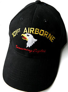 Image is loading 101ST-AIRBORNE-DIVISION-US-ARMY-SCREAMING-EAGLES-BASEBALL- eadea3d199b4