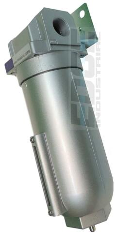 """250 PSI 1/"""" INDUSTRIAL GRADE IN LINE COMPRESSED AIR MOISTURE TRAP WATER FILTER"""