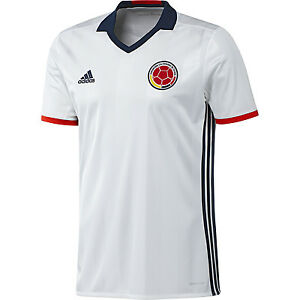 96111b94322 Image is loading adidas-Colombia-Home-Soccer-Jersey