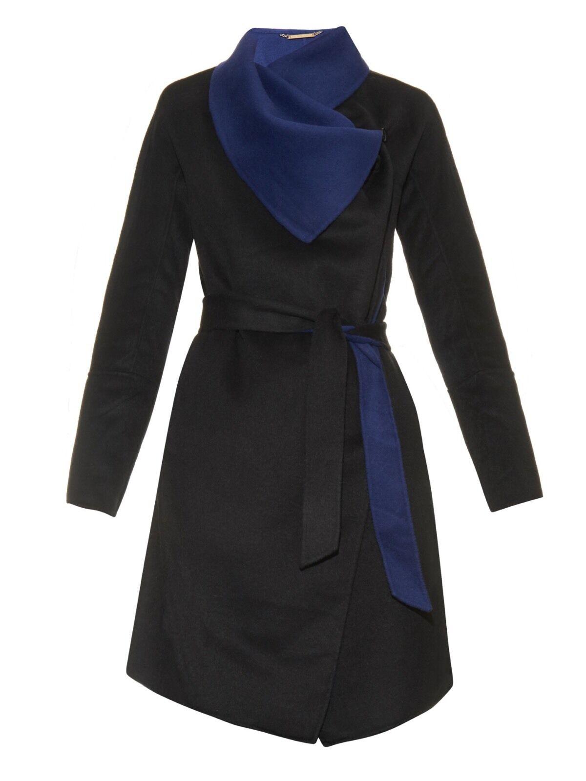 795.00 NWT Diane Von Furstenberg DVF Marilyn Coat Size Large L NEW