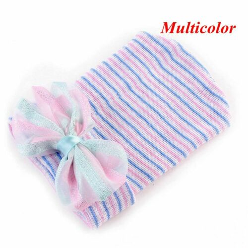 Newborn Warm Infant Soft Beanie Cap Baby Hat Hospital Bowknot