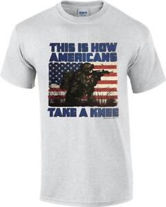 This-Is-How-Americans-Take-A-Knee-Patriotic-Soldier-Veteran-NFL-T-Shirt