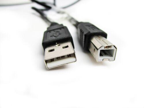 1M USB PC Dati Sinc NERO Cavo Piombo Per Canon Pixma MP235 STAMPANTE
