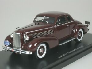 Lasalle-Series-50-Coupe-1937-Dark-Red-1-43-Neo-45760-New