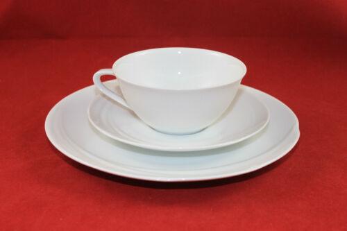 Hutschenreuther Maxim/'s de Paris tasse à thé soucoupe assiette 3tlg Couvert Blanc