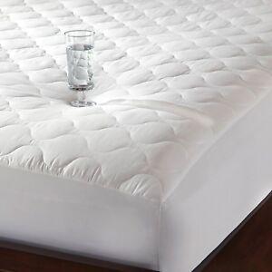 100 Cotton Quiet Waterproof Mattress Pad Mattress