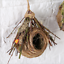 Bird Nest Woven Natural Straw Parrots Pigeon Swallow Small House Cage Handmade