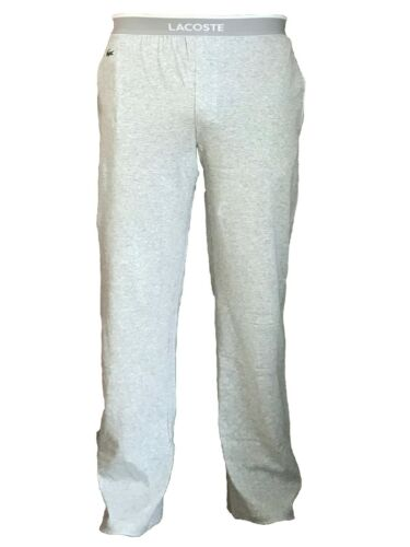 Neu Lacoste Herren Pyjamahose Schlafhose Hose lang Jogginghose M L XL 50 52 54