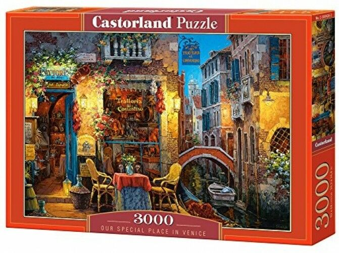 3000 PC Venice Puzzle Set, Toys Board Games Jigsaw Hobby Kids Portable Place NEW