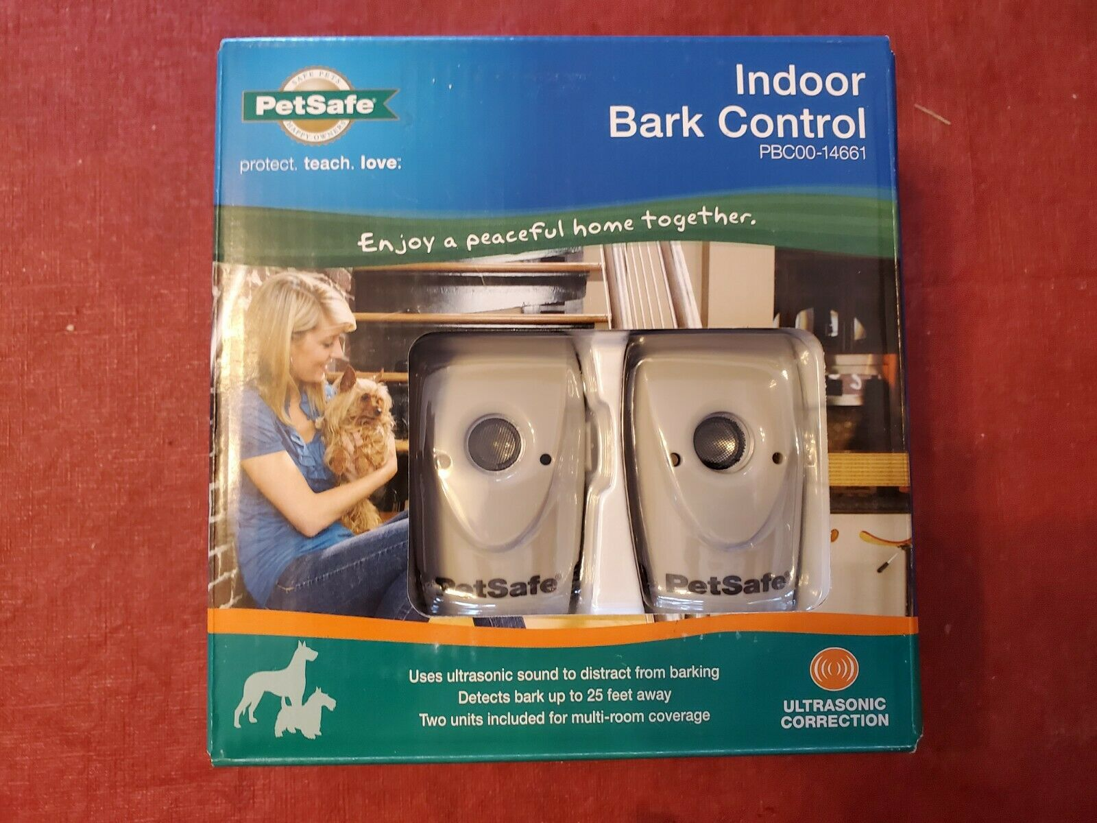 PetSafe Ultrasonic Indoor Bark Control Multi Room Coverage Pack of 2 PBC00-14661