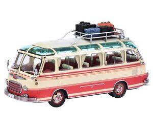 Schuco-Setra-S6-Bus-Avec-Bagages-de-voyage-limitee-Edition-1-43-ARTICLE-45-029