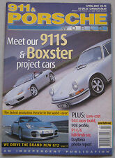 911 & Porsche World magazine 04/2001 featuring GT2,TechArt, 908, 914