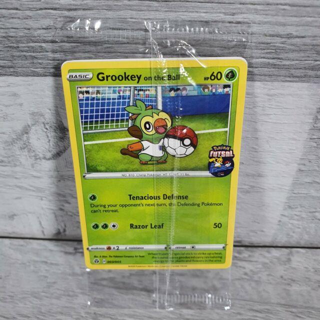 Grookey On The Ball Promo Card! Futsal Promo GAME UK Exclusive will ship to USA