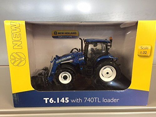 4956 New Holland t6.145 with 740TL LOADER 1 3 2 Universal Hobbies