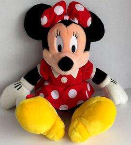 Disneyland-Walt-Disney-World-Minnie-Mouse-Plush-Toy-Doll-Red-Polka-Dot-Dress