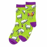 Wit Gifts Womens' Novelty Socks sheep - One Size Fits Most - Brand