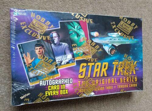 FLEER SKYBOX STAR TREK THE ORIGINAL SERIES SEASON 3 TRADING CARDS HOBBY RARE