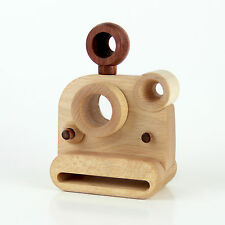Father's Factory -Say Cheese wooden toy kaleidoscope camera/SC-1 Poloraid style