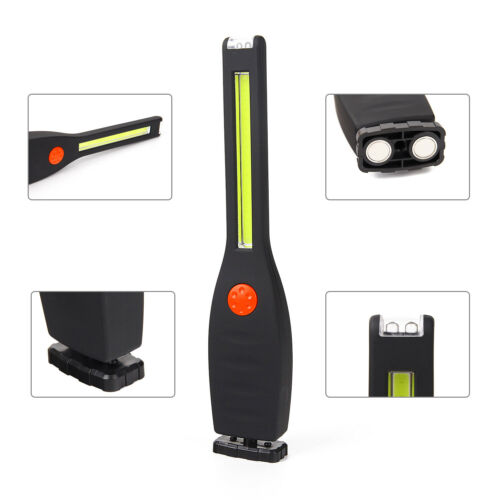 Battery Power COB LED 2Mode Portable Flashlight OutCamp WorkLight Manegtic Light
