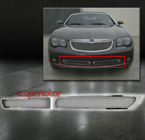 Fits 04-08 Chrysler Crossfire Stainless Steel Mesh Grille Grilles Automotive