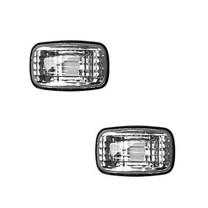 fit-Toyota-LANDCRUISER-100-Sr-039-s-Side-Guard-Indicator-Light-Pair-CLEAR-lens