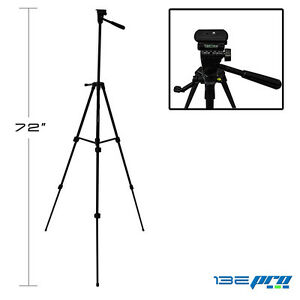 I3ePro Full Size 72-inch Tripod W/Leveler Adjust & Carrying Case for SLR Cameras