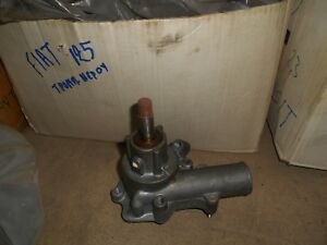 WATER PUMP FIAT 124 SPIDER (124) 1500 SPORT (BS) | eBay