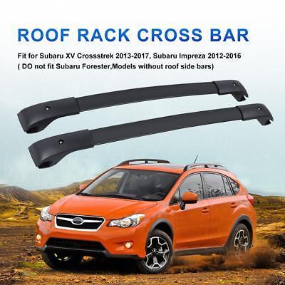 Top Roof Rack Cross Bar Luggage Carrier For 2010-2017 Subaru Crosstrek Impreza