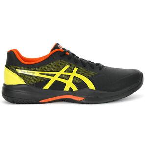 ASICS-Men-039-s-Gel-Game-7-Black-Sour-Yuzu-Tennis-Shoes-1041A042-011-NEW