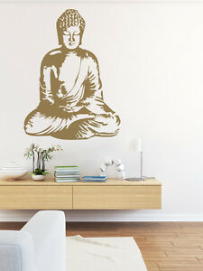Image Is Loading Buddha Wall Decal Buddha Wall Art Asian Wall