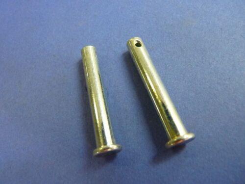 2 St. XV 535 Bolzen für Fußraste hinten XV 1100 Stift Yamaha XV 1000