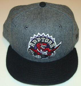 NBA BLACK Toronto Raptors New Era 59Fifty Cap