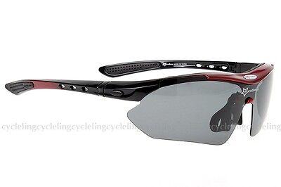 RockBros Polarized Cycling Glasses Bike Goggles Casual Sports Sunglasses UV400