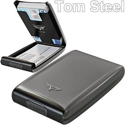TRU VIRTU Aluminium Credit Card Case, Business EC holder Case NEU