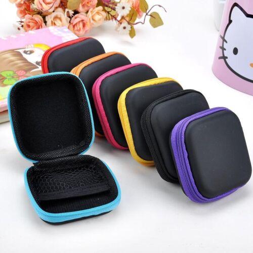 EDC Mini Case Storage Bag Pouch Box for SD TF Card Earphones Headphones Headset