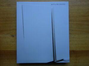 Willy De Sauter, Ronny van de Velde, 2013, monografie door Tanguy Eeckhout