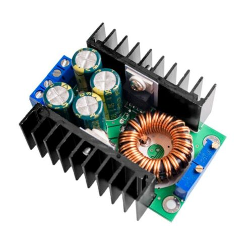 12A 300W 7-32V to 0.8-28V DC-DC CC CV Buck Converter Step-down Power Module DT