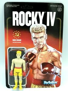 Figurines collection Rocky 4 SUPER 7 ReAction IVAN DRAGO 10 cm NEUF s/ blister
