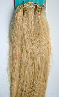 """Lot AAA 15""""-22""""Clip In Remy Real Human Hair Extensions Straight Any Color 5g-75g"""