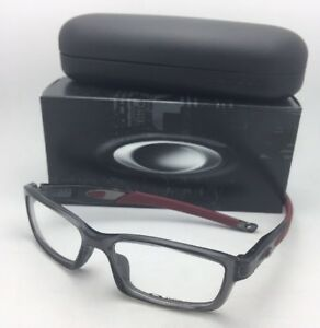 8da9fe4310a New OAKLEY Eyeglasses CROSSLINK OX8027-0653 53-17 140 Grey Smoke ...