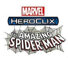 HEROCLIX AMAZING SPIDER-MAN Spider-Man 001 A B C (Avengers, Scientist) LOT X 3