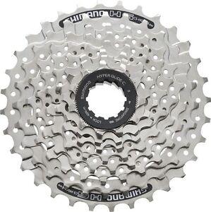 Shimano-Casete-cs-hg41-de-8-bicicleta-Plata-11-34-11-34